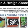 Wine & Design Koopavond op woensdag 3 augustus!